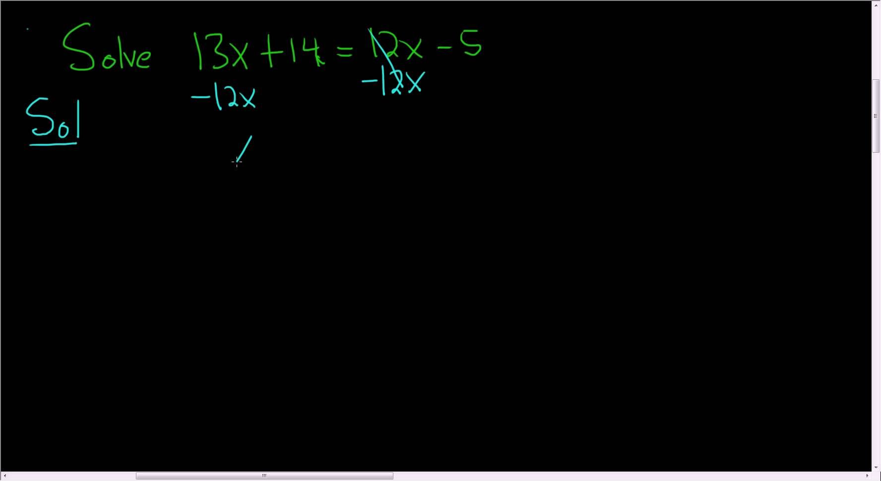 Solving A Linear Equation Example 11