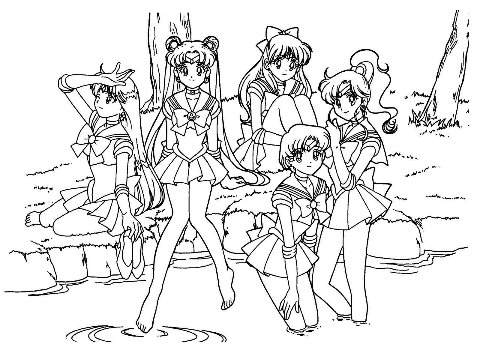 dibujos para colorear de sailor moon   Dibujos   Pinterest   Sailor ...