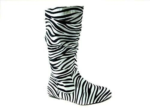 7aeaafa11ed0 New Little Girls Bella-9 Slouchy Zipped Tall Winter Fashion Boots ...