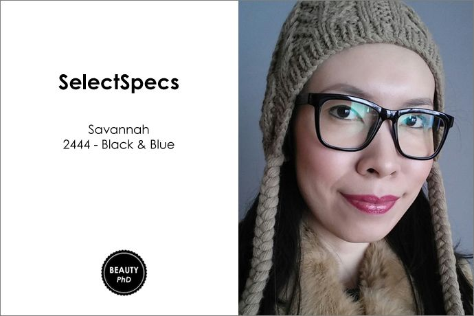 e9381952f2a SELECTSPECS SAVANNAH 2444 BLACK   BLUE GLASSES  REVIEW  from the Beauty PHD  Blog
