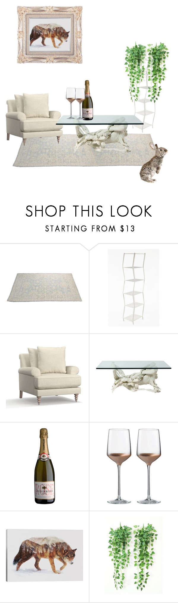 """rabby"" by combinestuff ❤ liked on Polyvore featuring Pottery Barn, Wedgwood and iCanvas"