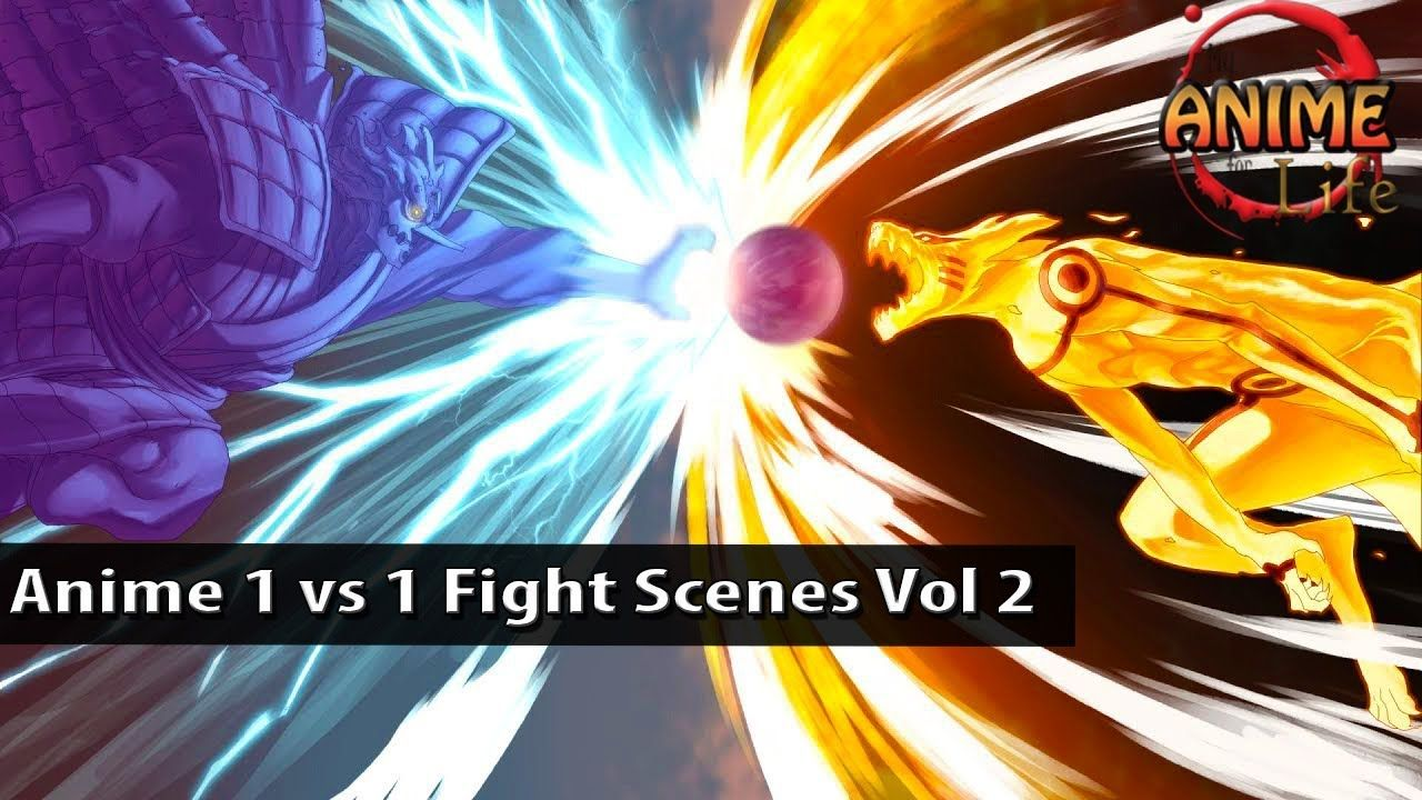 Top 10 Epic Anime One Vs One Fight Scenes Vol 2 Anime Fight