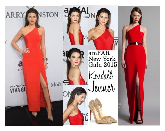 """Kendall Jenner amFAR New York Gala 2015 02.11.2015"" by valenlss ❤ liked on Polyvore featuring GALA, Christian Louboutin, christianlouboutin, kendalljenner, amfAR, RamonaKeveza and amFARGala"