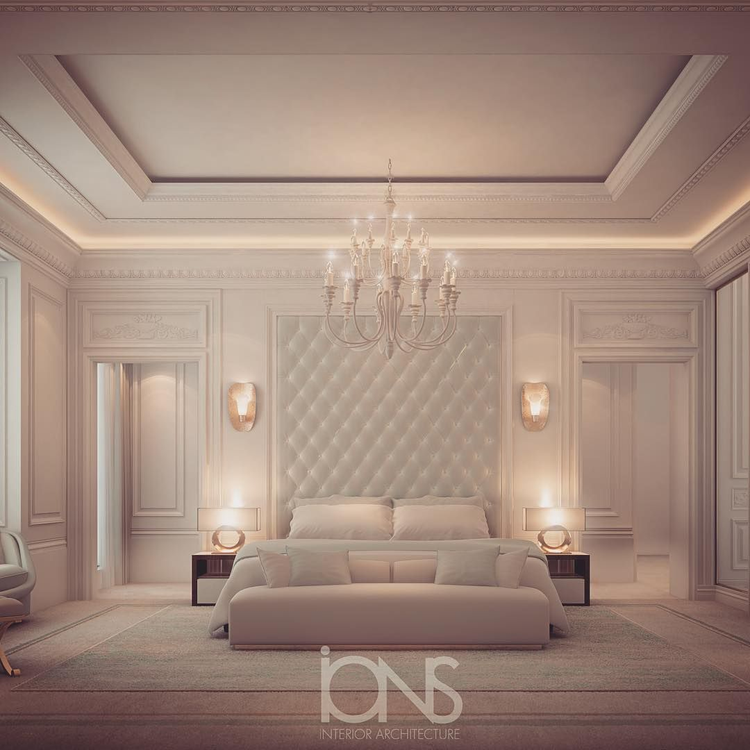 Bedroom Design Private Palace: Modern Classic Bedroom, Luxury