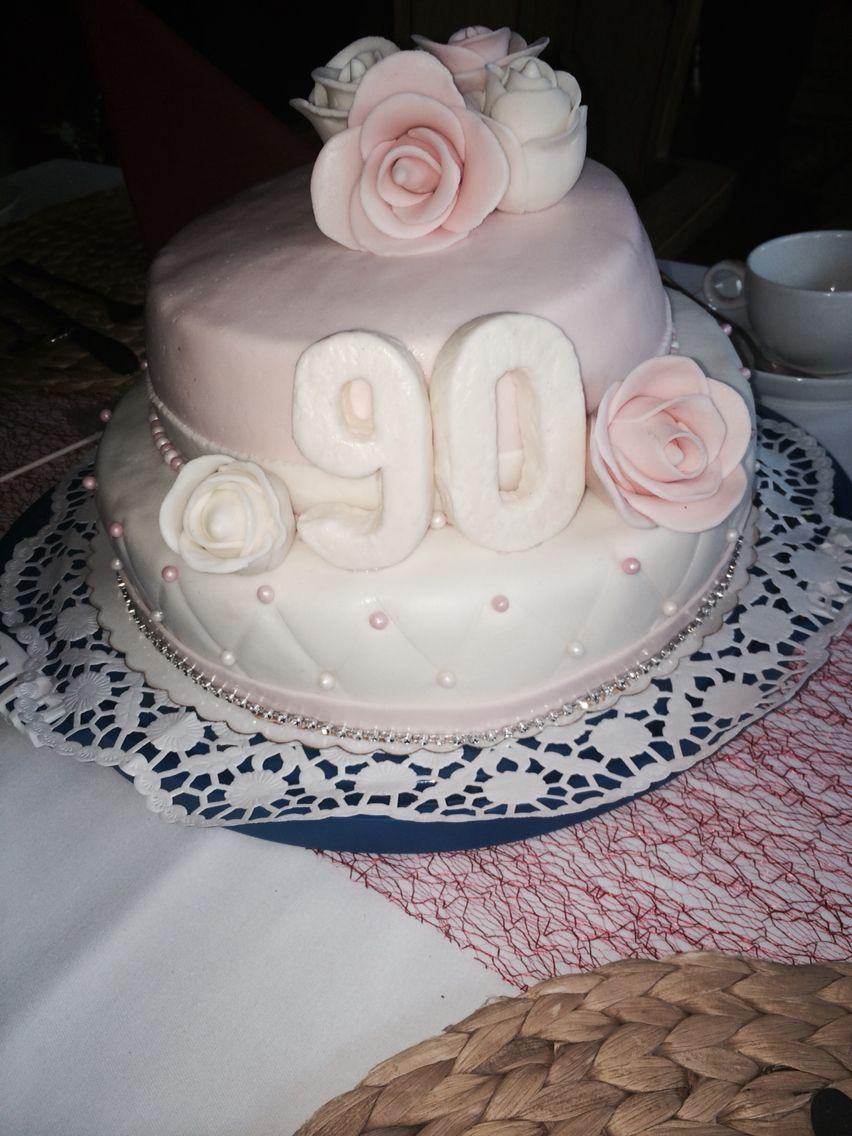 Geburtstagskuchen Fur Die Oma Zum 90 Geburtstag Geburtstag