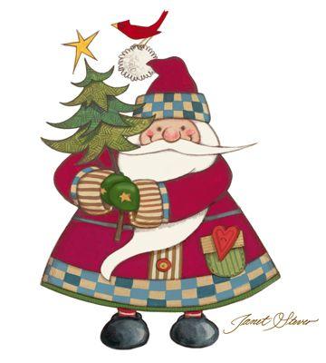 Santa Icon JANET STEVER*