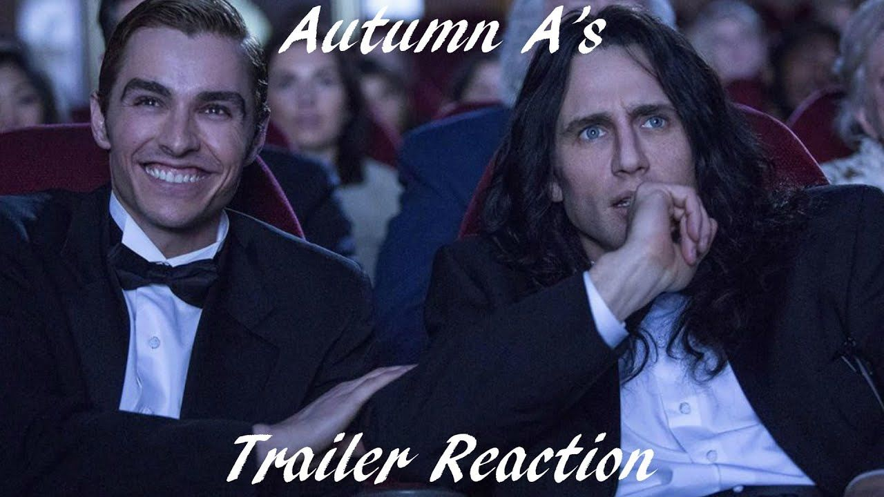 The Disaster Artist Trailer reaction The artist movie