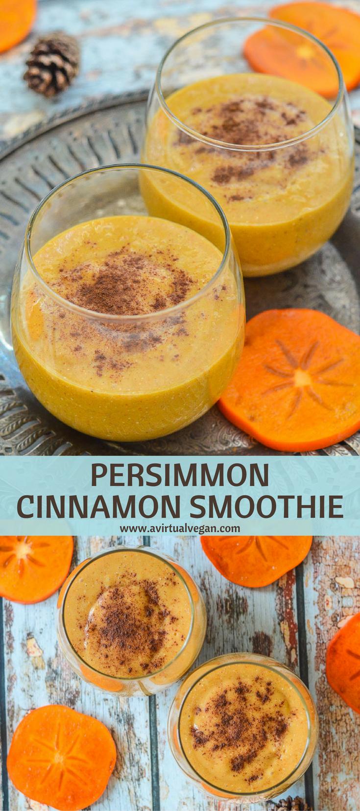 Persimmon Cinnamon Smoothie | Rezept
