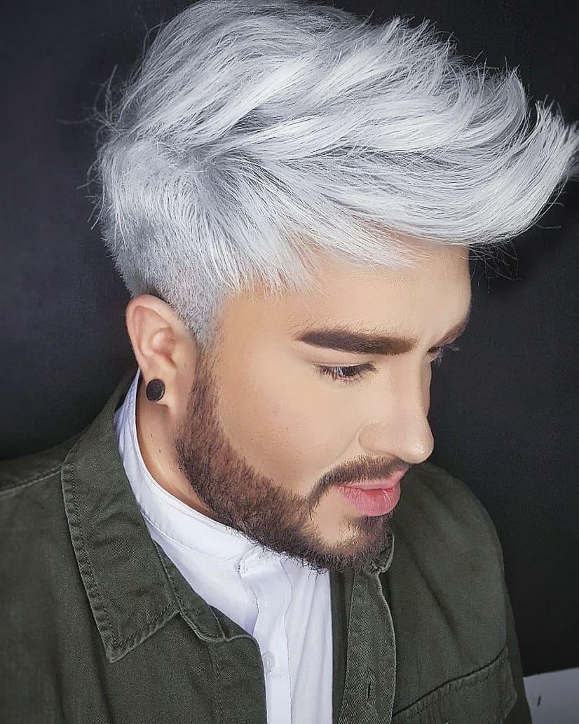 Pin On Dyed Hair Men