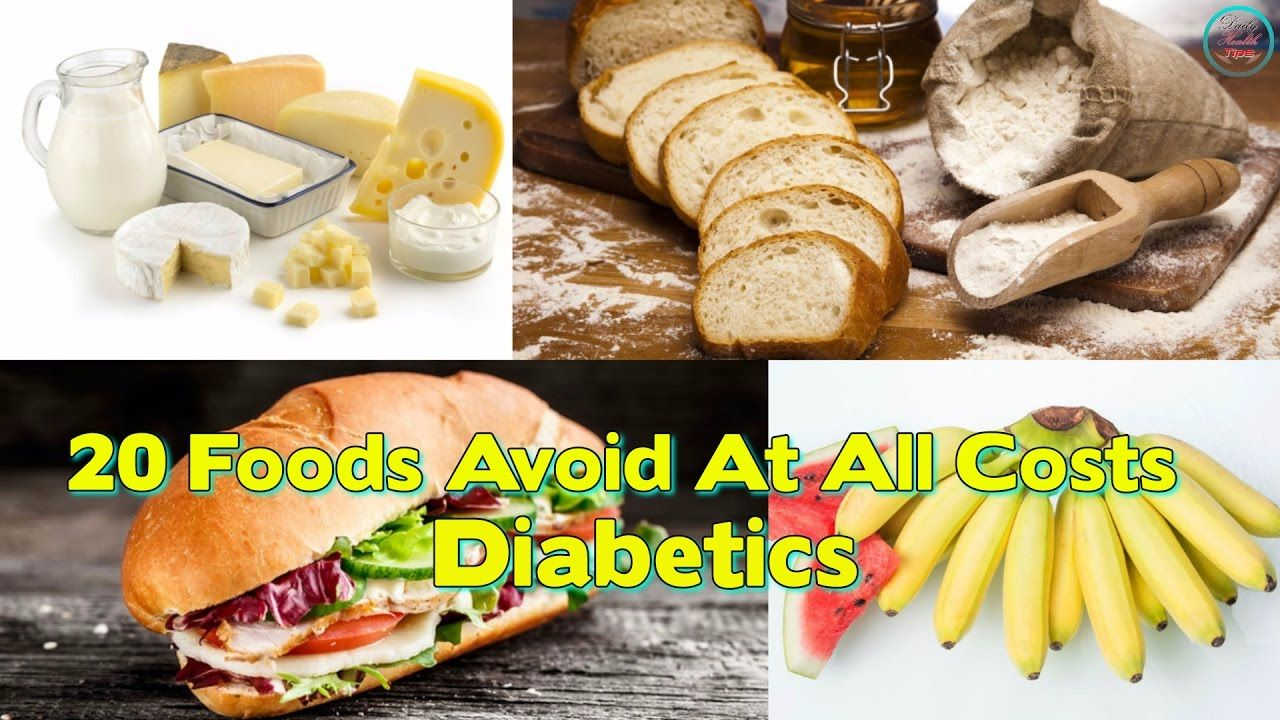 Foods Diabetics Should Avoid At All Costs Foods Diabetics Should
