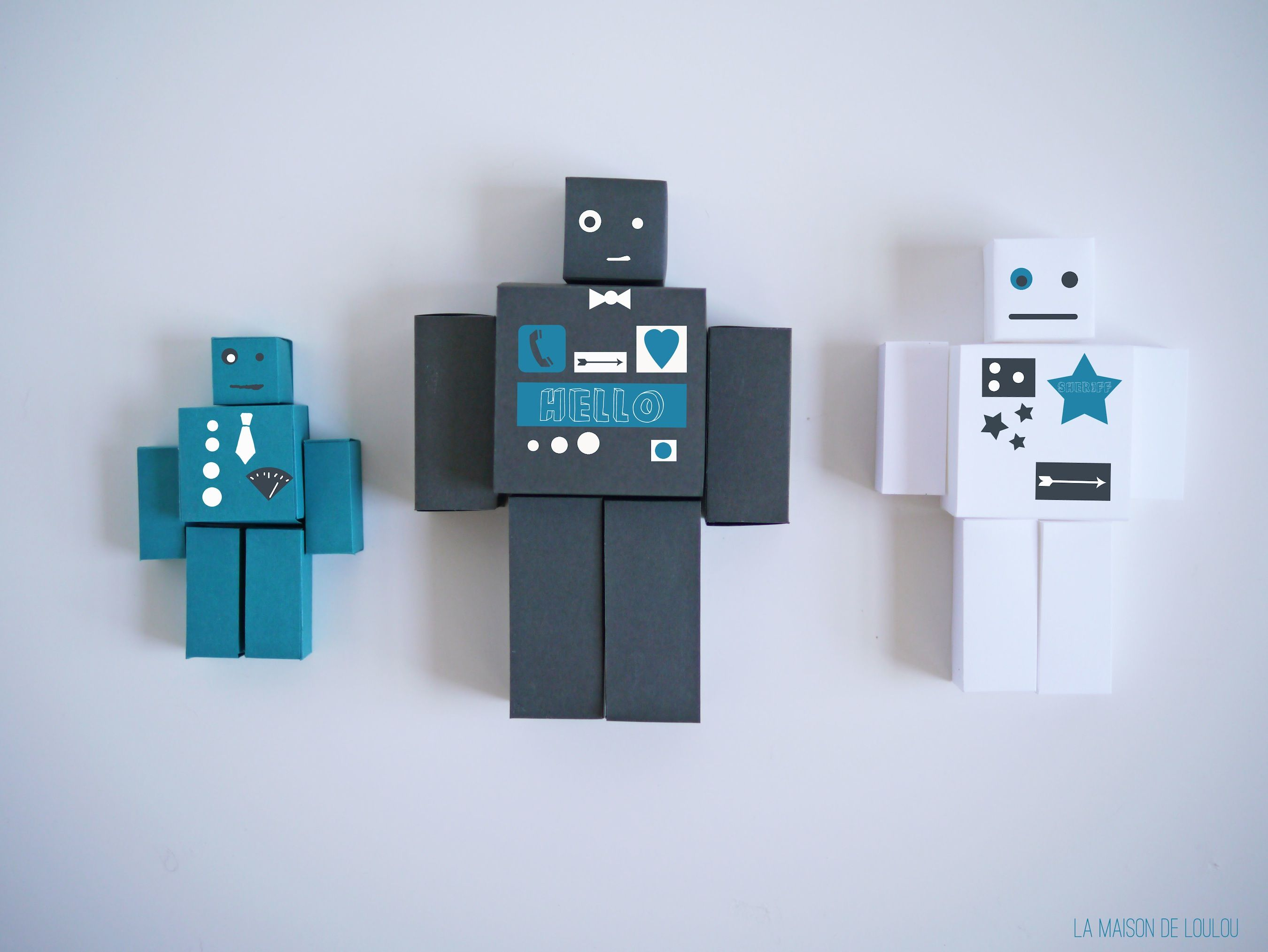 Free Cube Templates For The Diy Paper Robots  Diy Paper Robot