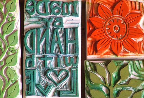 Beautifully hand-carved stamps. Do I have room in my life for another love?