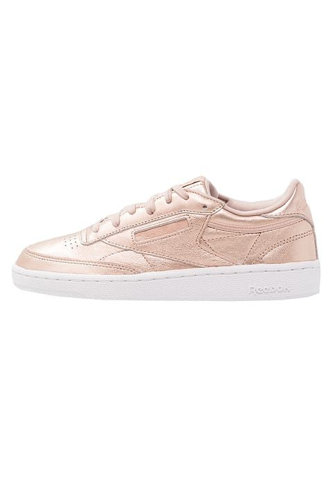 Reebok Club C 85, Chaussures de Gymnastique Femme, Or (Pearl Met-Grey Gold/White), 41 EU