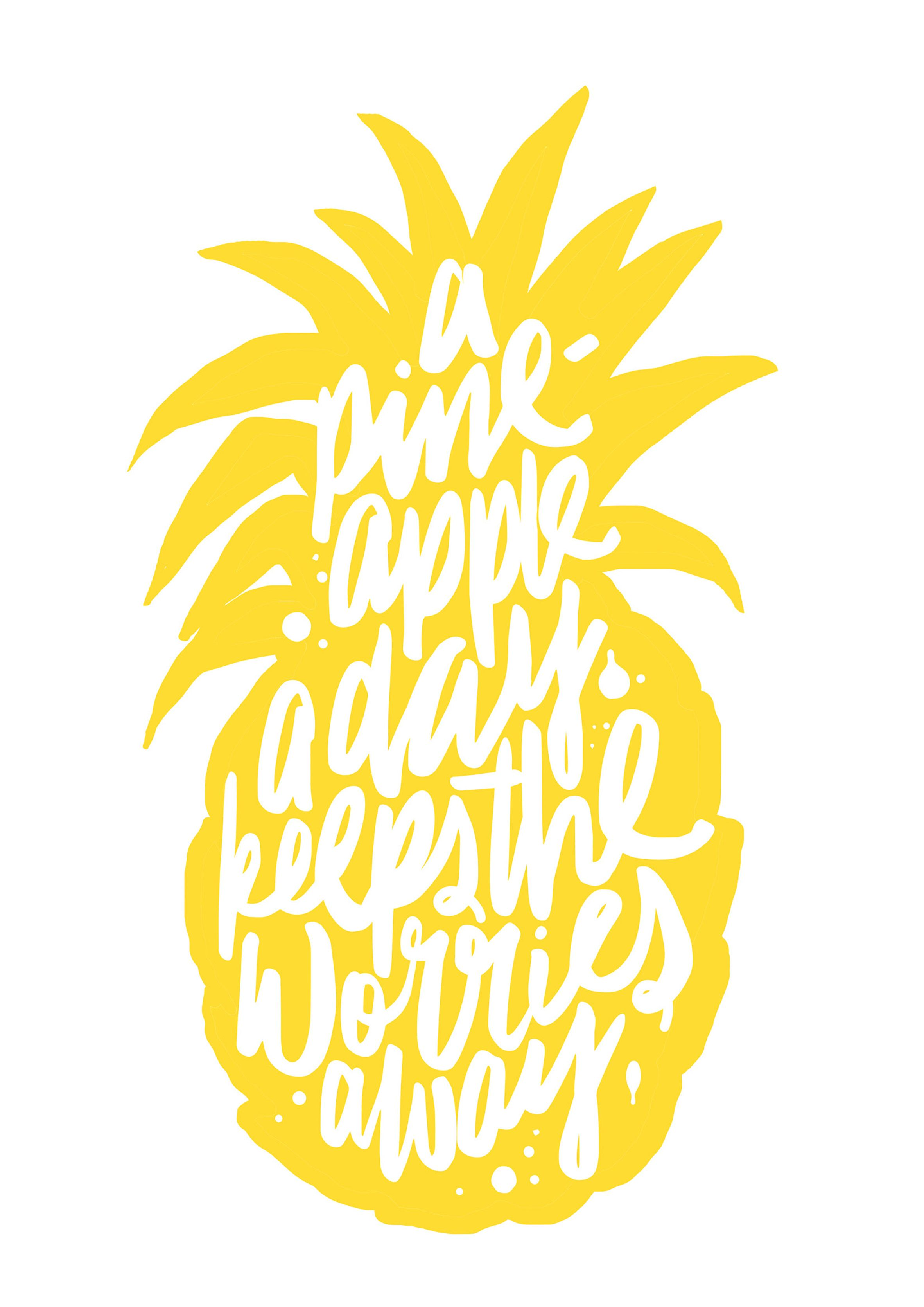 A pineapple a day keeps the worries away (picture by Maiko ...