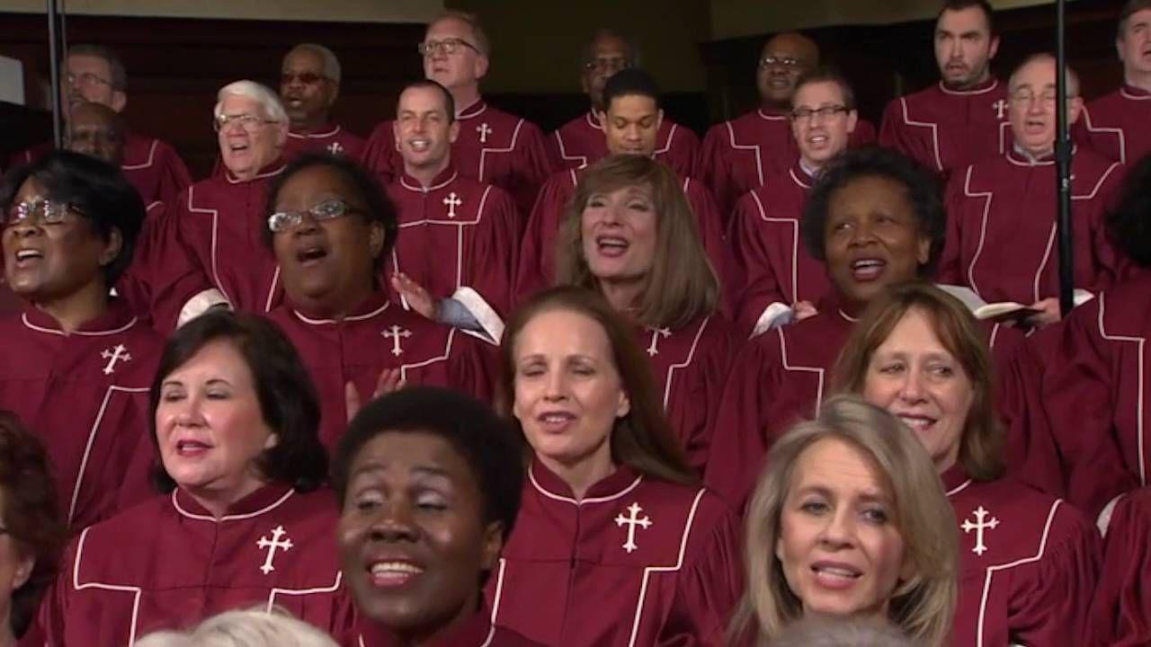 From the gospel music hymn sing at first baptist atlanta