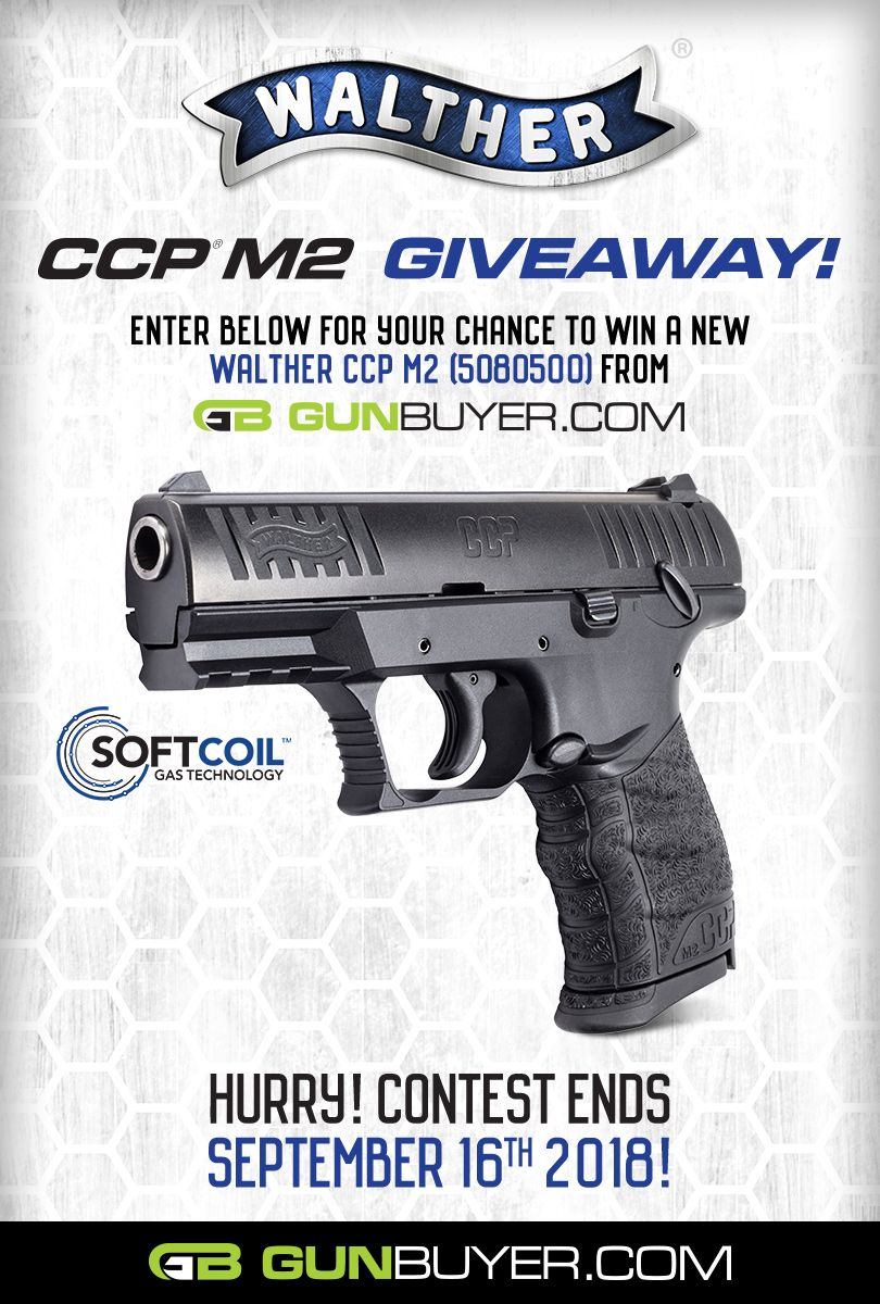 Walther gun giveaways