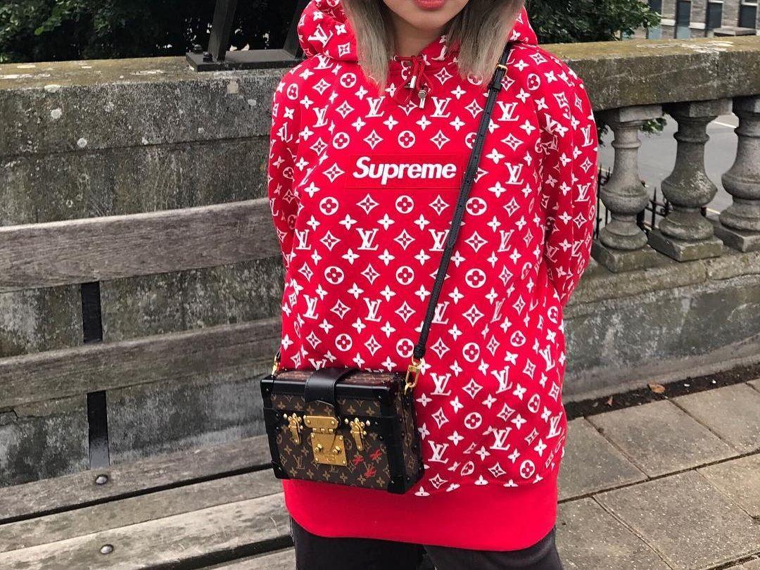 0fdf8f321 Gucci Petite Malle Bag || Sureme Louis Vuitton Hooded Sweatshirt | i ...