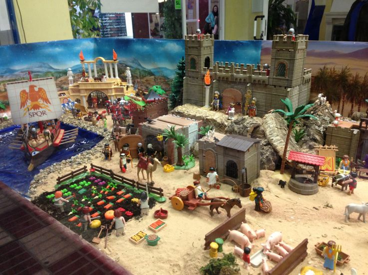 playmobil diorama  recherche google  belenes belén