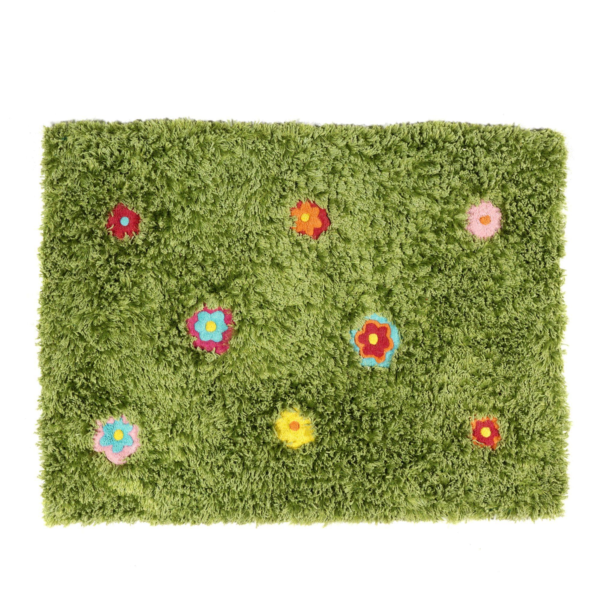 Tapis Enfant Tufte Multicolore My Garden Les Tapis De Chambre D Enfants Les Tapis Rideaux Et Mobilier De Salon Meuble Deco Deco Chambre Enfant