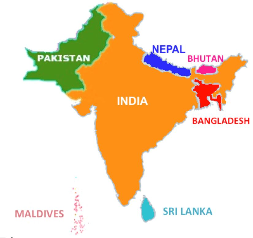 Blank south asia map google search asia maps pinterest asia blank south asia map google search gumiabroncs Choice Image