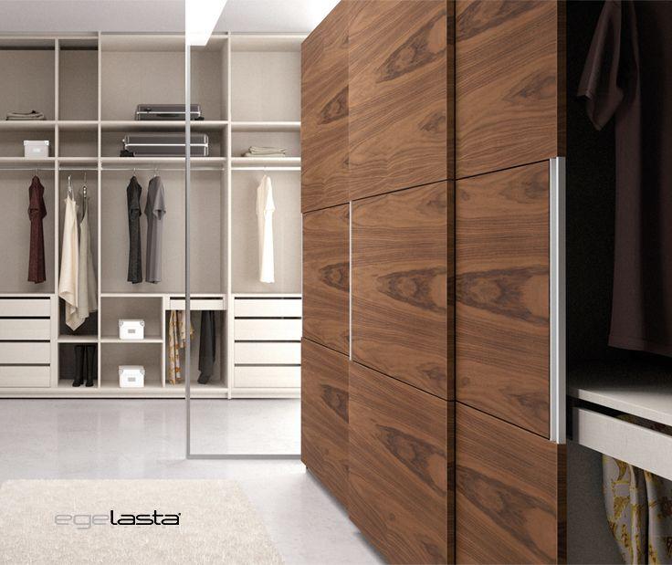 Egelasta open nexus 204 mueble moderno madera - Distribucion de armarios roperos ...