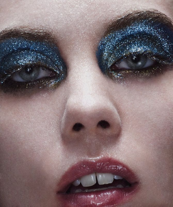 Fantasy And Avant Garde Makeup Glitter Beauty Love