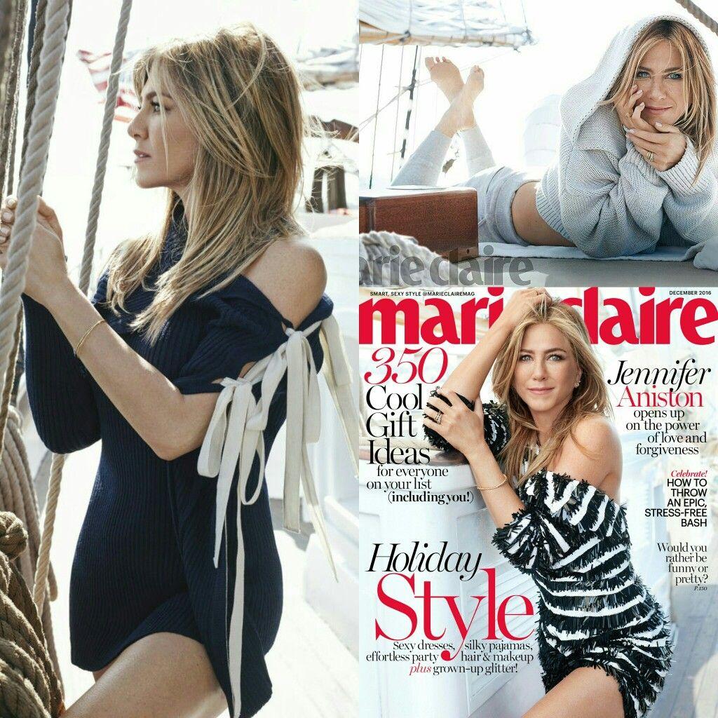 Powerful as ever! #JenniferAniston takes the cover and filling of #MarieClaire's December 2016 issue!! • • • • • • • • • • • • • • • • • • • • • • • • • • • • • • Poderosa como sempre! #JenniferAniston leva a capa e recheio da edição de dezembro de 2016 da #MarieClaire!!