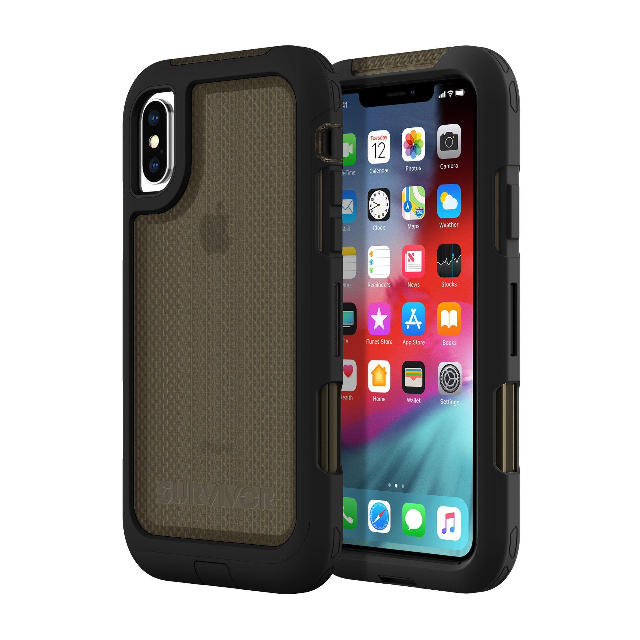 Griffin survivor extreme protective case black for iphone