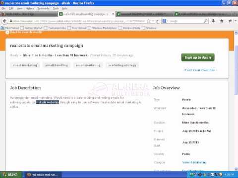 Email Marketing Bangla Tutorial Part   Emil Marketing Job In