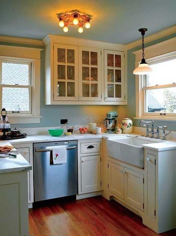 Einen Blick zu den kleine Küchen und 8 kleine Küchen Fotos Küche - küchenmöbel für kleine küchen