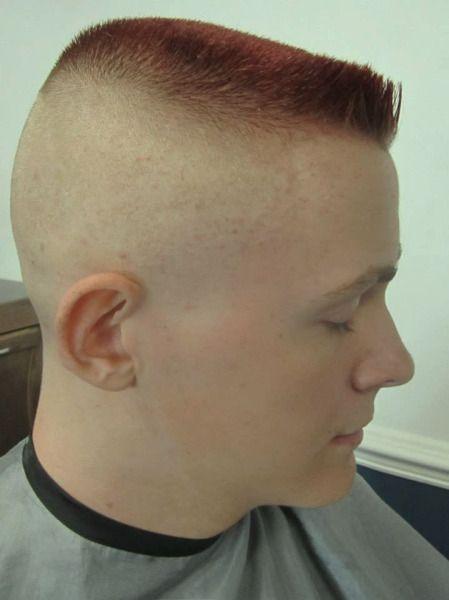 Flattop En Brosse Flattop Haircut Pinterest Corte Militar