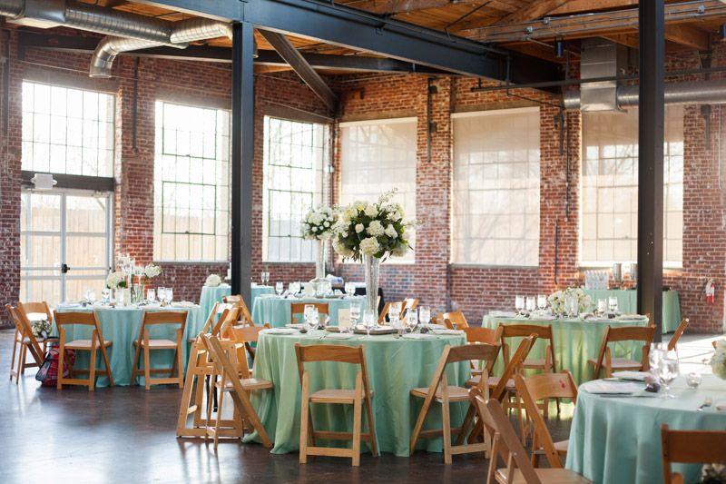 A Traditional Wedding At The Foundry Puritan Mill In Atlanta Ga Rustic Venuesbarn