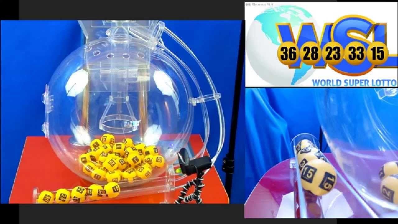 World Super Lotto - Live Drawing #26 - Dec 27, 2014, Jackpot 7.6 Btc