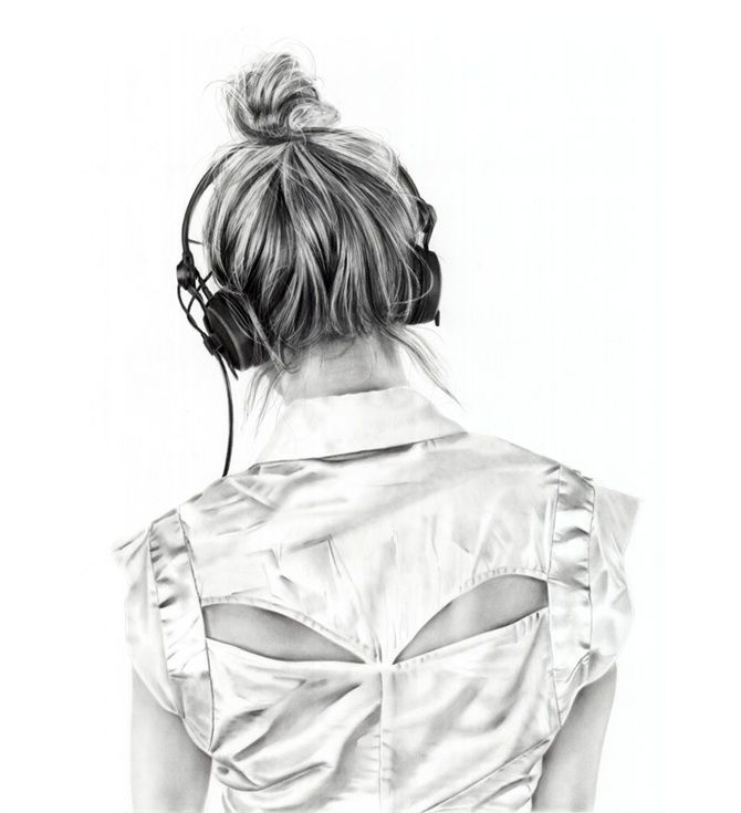 Yanni Floros Omega2015 Charcoal On Paper 76 00 X 56 00 Cm Girl Drawing Hair Sketch Art Girl