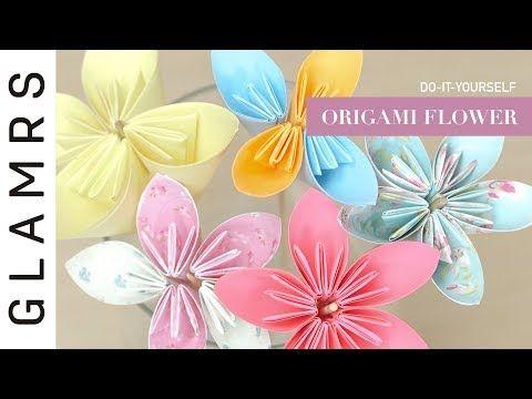 Diy paper flower origami flower tutorial paper craft video diy paper flower origami flower tutorial paper craft video description most of us knows mightylinksfo