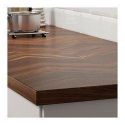 IKEA - BARKABODA, Benkeplate, 186x3.8 cm, , 25 års garanti. Les om vilkårene i garantiheftet.Benkeplate med et øvre lag tre, et slitesterkt naturmateriale som kan pusses ned og overflatebehandles når det trengs.Hver benkeplate er unik, med variasjoner i mønster og farge, det er en del av sjarmen med tre.Et godt valg for miljøet, fordi metoden med å bruke et lag med massivt tre oppå ei sponplate er ressurseffektivt.Du kan kappe av benkeplaten i ønsket lengde og dekke kantene med de 2…