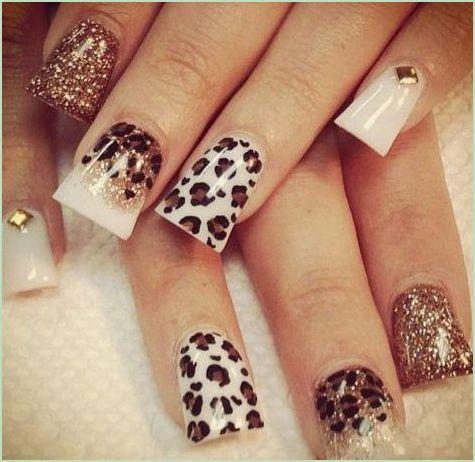 Cheetah Nail Art For Women 2017 Styles Art Nails Pinterest
