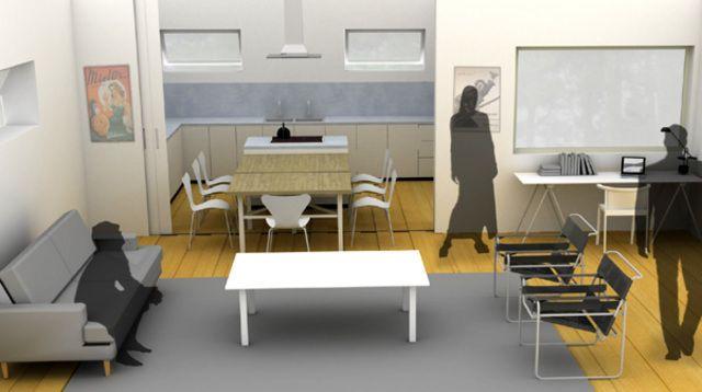 Comment réunir cuisine et salle à manger dans une même pièce
