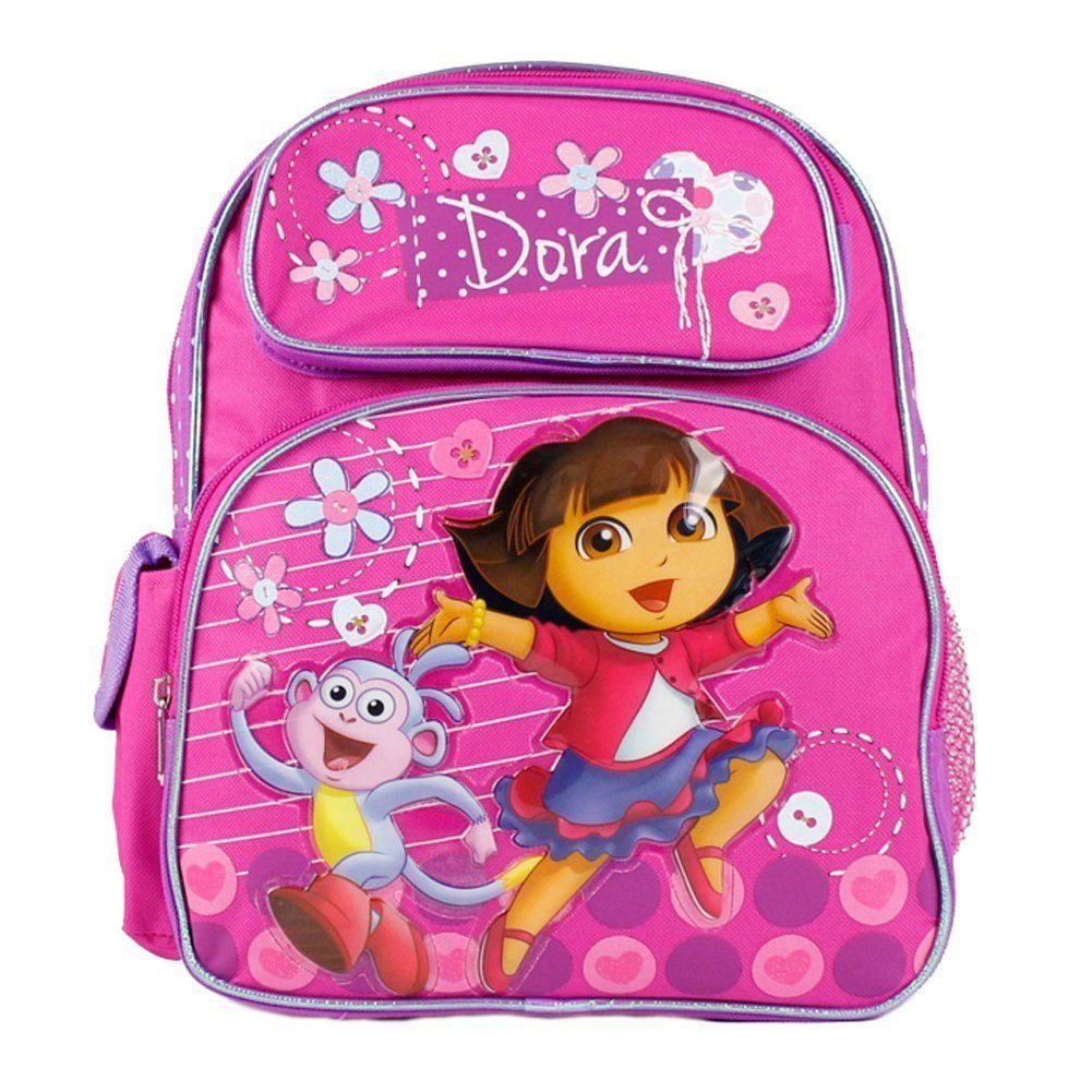 a0222cfa356c Dora the Explorer and Boots Happy and We Made it Girls 12  School Backpack  Bag     Read more reviews of the product by visiting the link on the image.