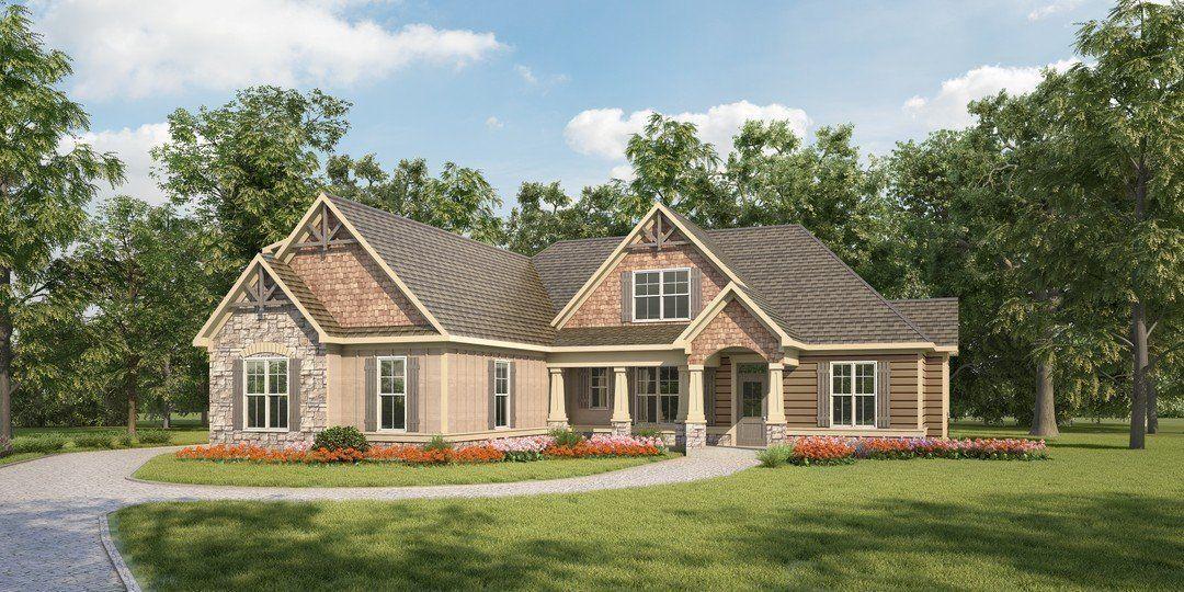 Hpm Home Plans Home Plan 638 2485 Bungalow House Plans Family House Plans Craftsman Style House Plans