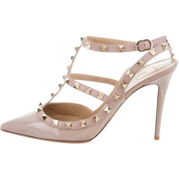 Pre-owned - Rockstud patent leather heels Valentino Factory Outlet For Sale Latest Collections Online Discounts Cheap Online YGgebiW6
