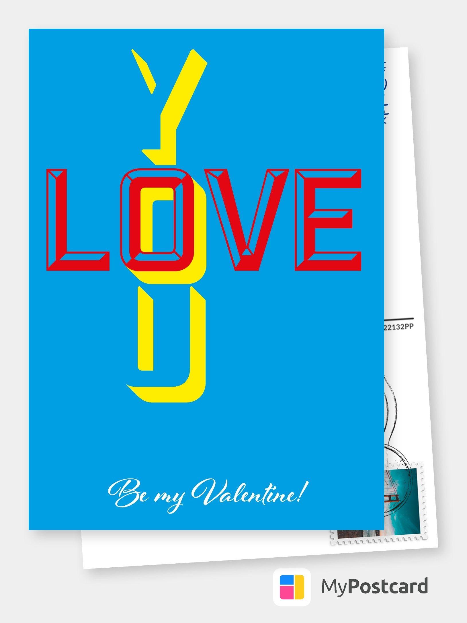 be my valentine  retro grafik  liebeskarten  sprüche 🌹💌