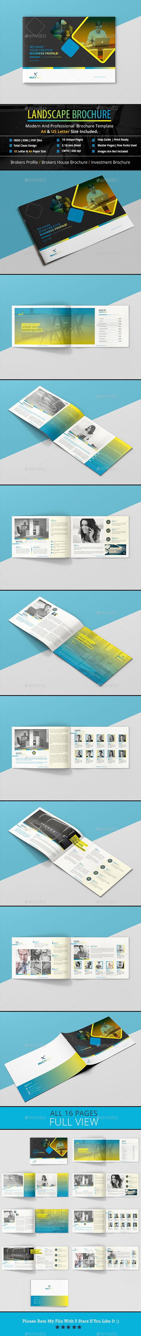 Landscape Brochure (A4 & US Letter)