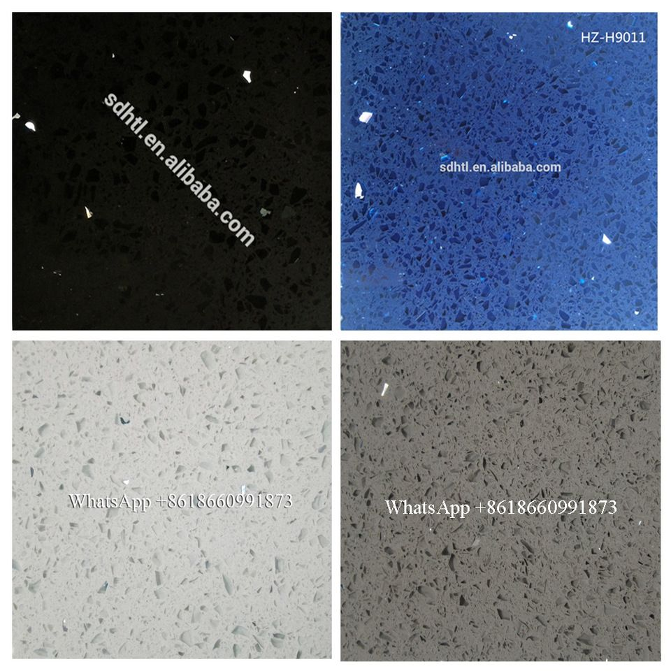 Composite Starlight Sparkle Crystal Galaxy White Black Grey Red
