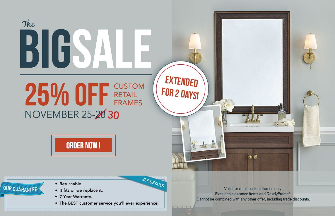 MirrorMate Frame Sales & Promotions | MirrorMate Frames | Ideas for ...