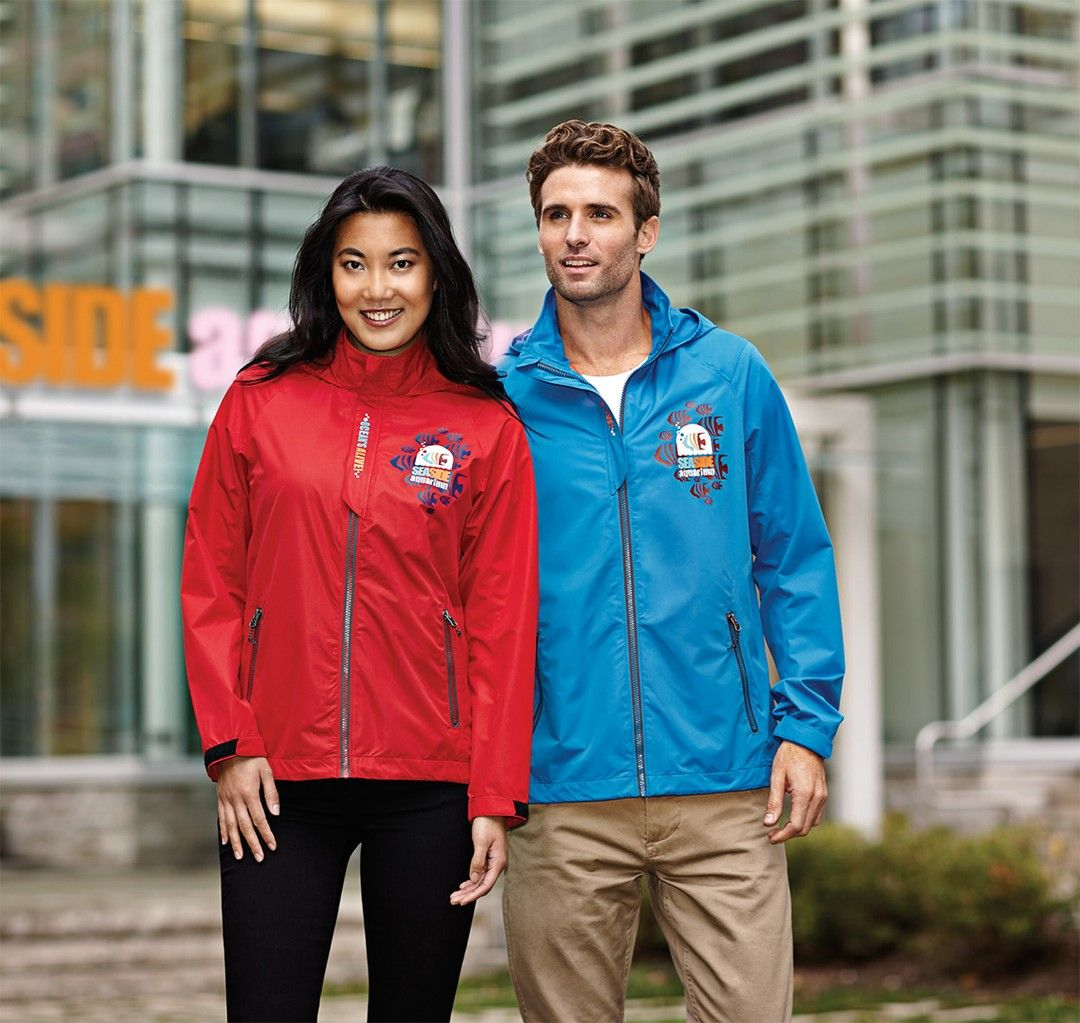 Outerwear Branded With Your Company Logo Keeps Your Team Looking And Feeling Their Best Outerwear Fallwinter2019 Fall Outerwear Rain Jacket Company Logo [ 1023 x 1080 Pixel ]