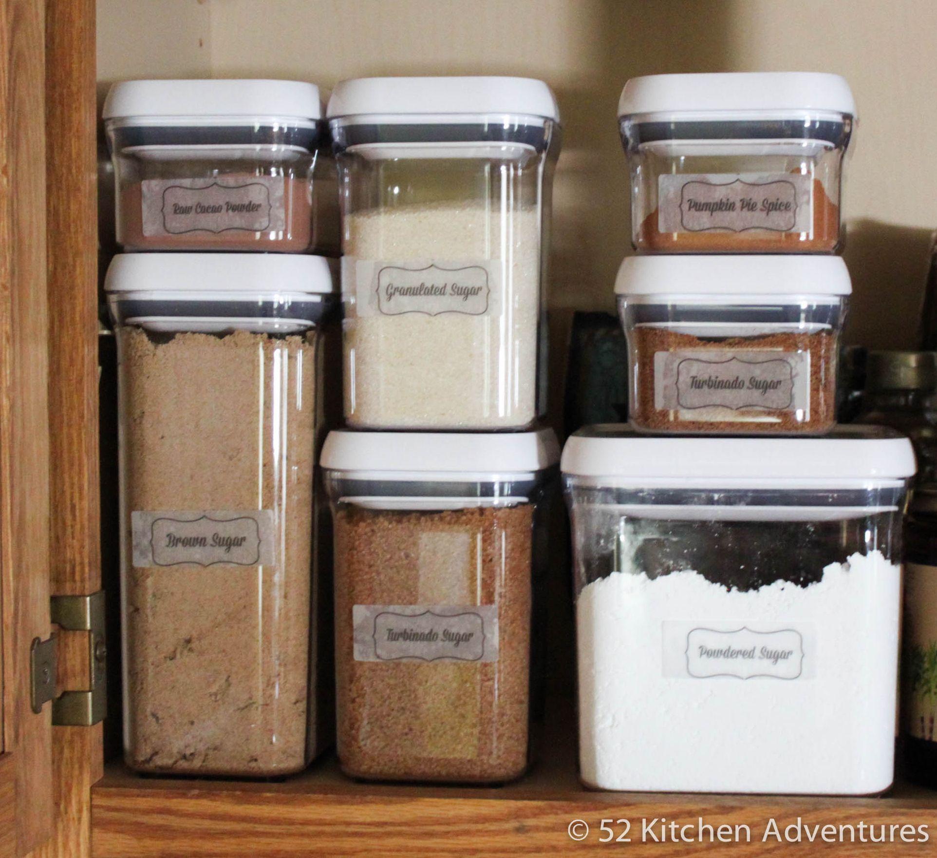 5 Ways To Organize Your Baking Supplies Free Printable