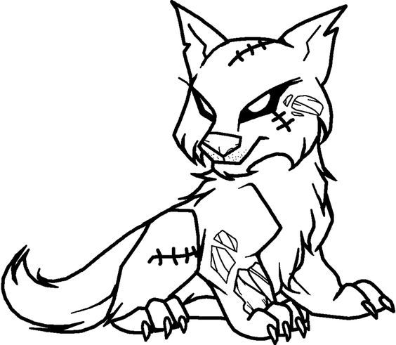 Coloring Pages Wolves Printable Picture Awesome Wolf Pup Coloring ... | 491x564