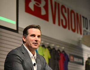 Under Armour 4Q revenue up 25%: Under Armour, the Baltimore-based sportswear manufacturer, announced strong results Thursday for the fourth quarter and for 2012 as a whole, putting it closer to its goal of doubling net revenues from 2010 to 2013.