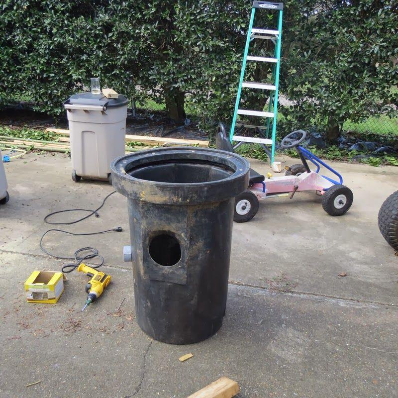 using old septic tank Diy pond, Ponds backyard, Pond filters